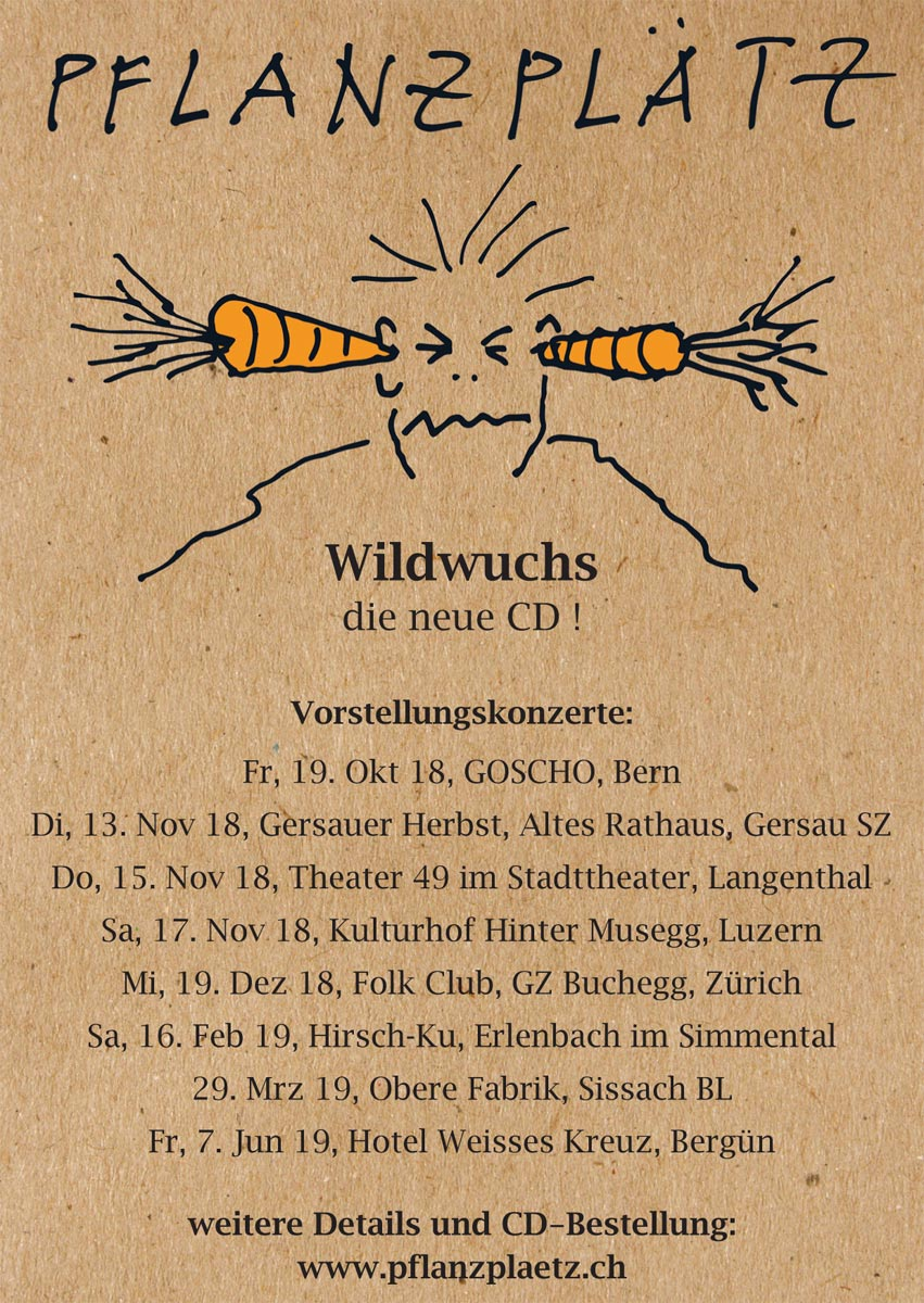 flyer Wildwuchs